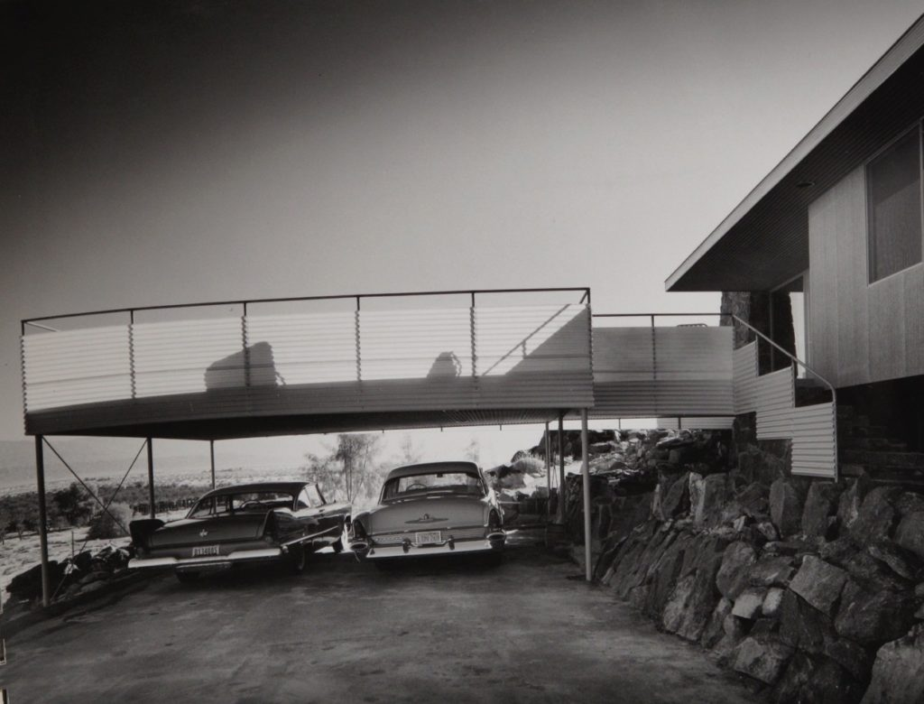 Julius Schulman - Suite of Nine Photographs of Albert Frey's Cree House Palm Springs, California